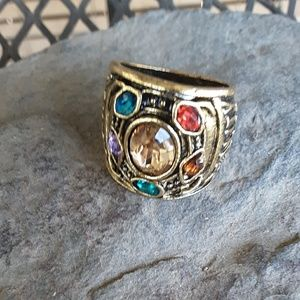 SZ 7 Avengers Movie Ring Unisex